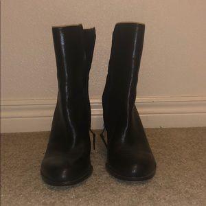 Sam Edelman black ankle boots